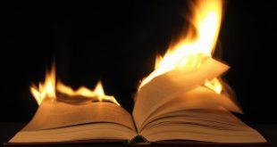 Livro em chamas
